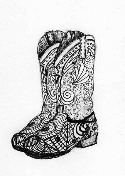 coloring pages boots hiking boots drawing at getdrawings free download boots coloring pages
