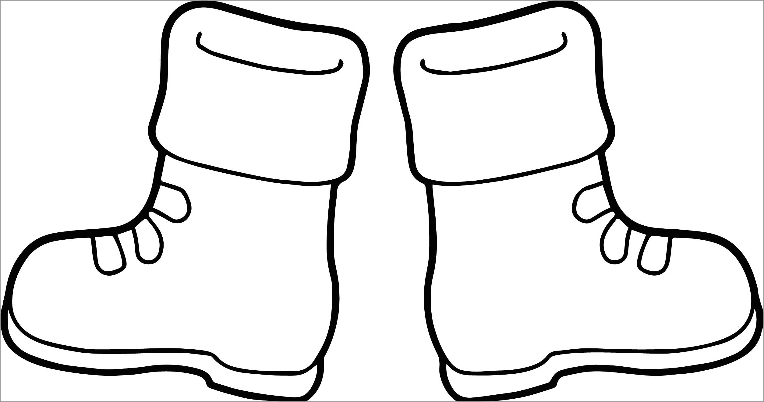 coloring pages boots hiking boots drawing at getdrawings free download pages coloring boots