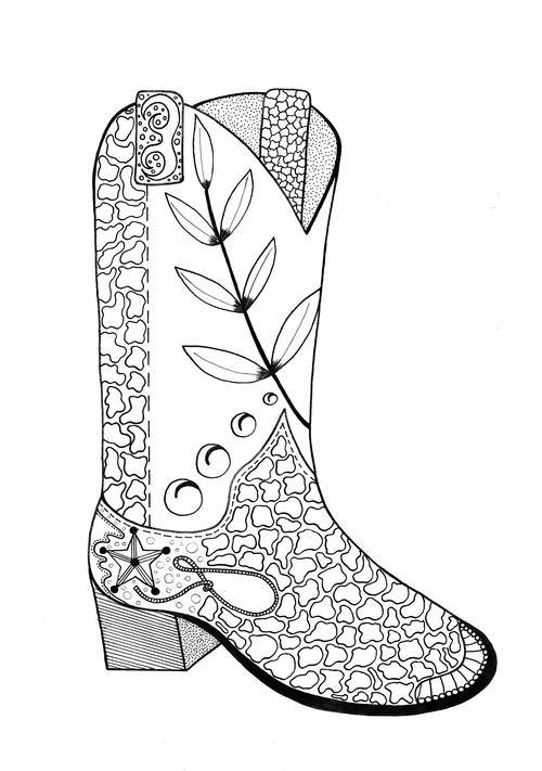 coloring pages boots rain boots coloring page free download on clipartmag pages coloring boots