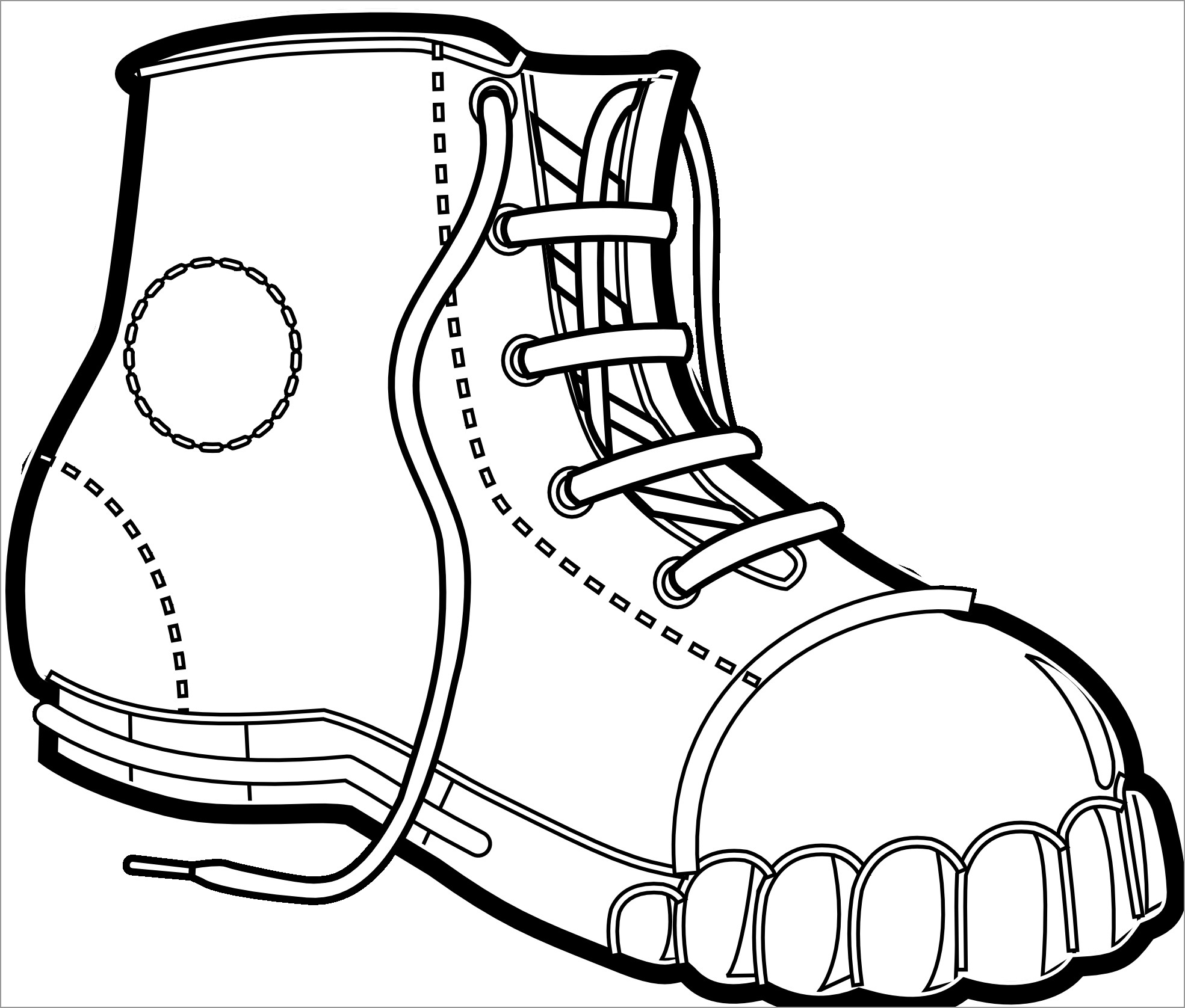coloring pages boots solid winter season boots to wear coloring page netart pages boots coloring