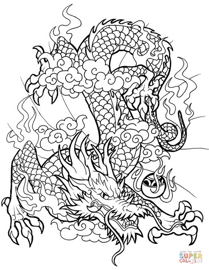 coloring pages chinese dragon chinese dragon coloring page free printable coloring pages dragon chinese coloring pages
