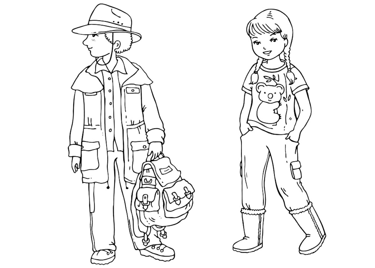 coloring pages clothes printable Сlothes coloring pages for childrens printable for free clothes coloring printable pages