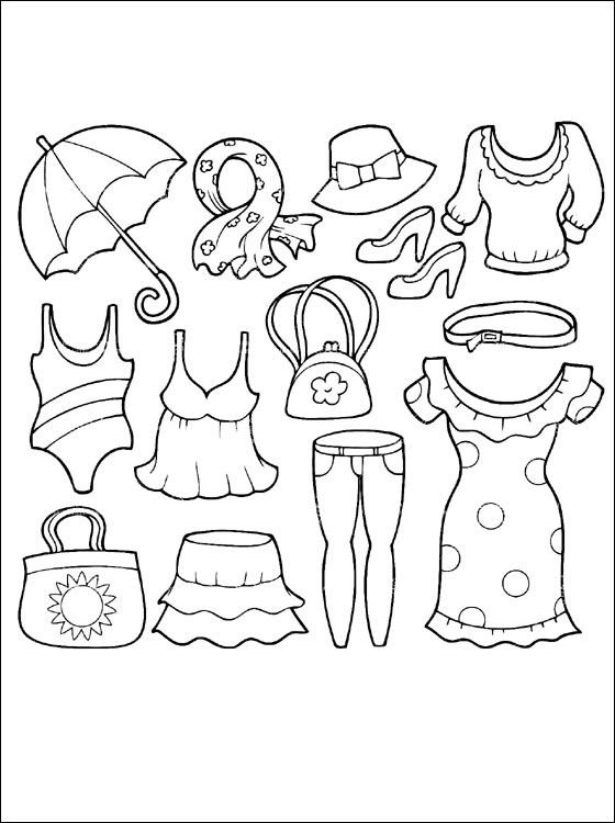 coloring pages clothes printable fashion clothes coloring pages coloring home clothes printable pages coloring