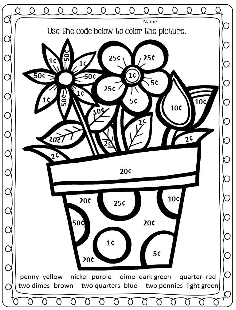coloring pages color by number 3 color by number easter printables to keep your kids by number coloring color pages