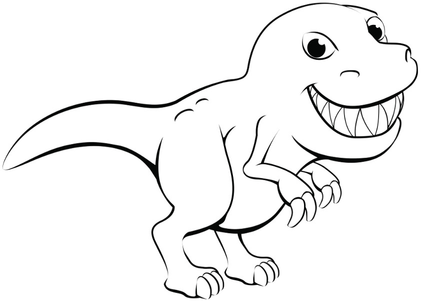 coloring pages dinosaurs cartoon dinosaur coloring pages at getcoloringscom free coloring dinosaurs pages
