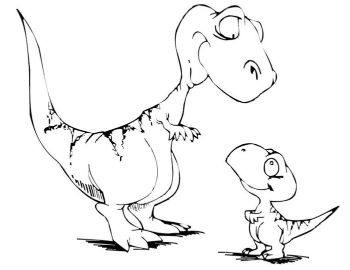 coloring pages dinosaurs cute dinosaur coloring pages at getcoloringscom free dinosaurs pages coloring