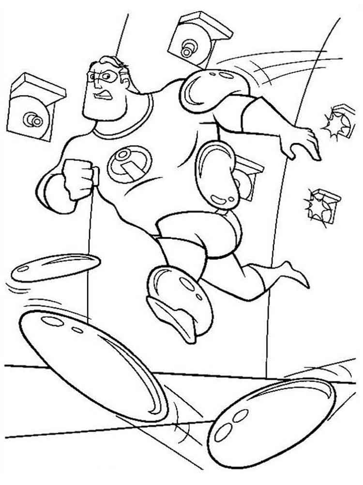 coloring pages disney incredibles the incredibles coloring pages download and print the incredibles coloring pages disney