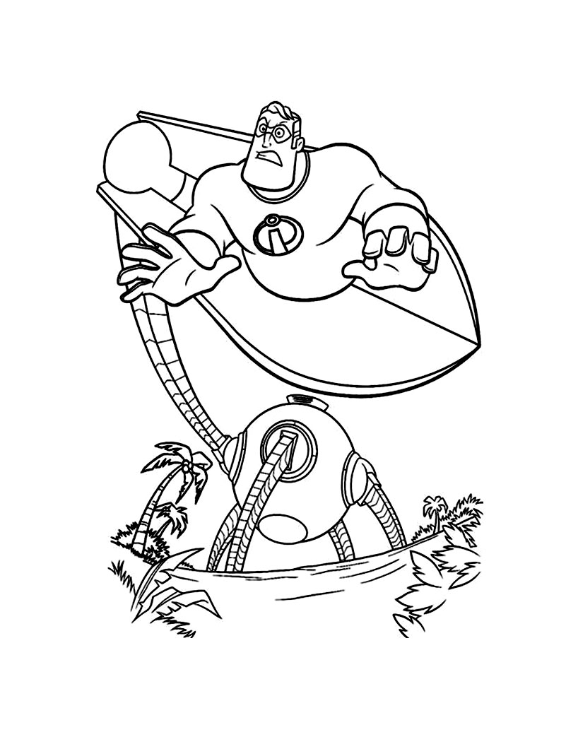 coloring pages disney incredibles the incredibles to download the incredibles kids disney coloring pages incredibles