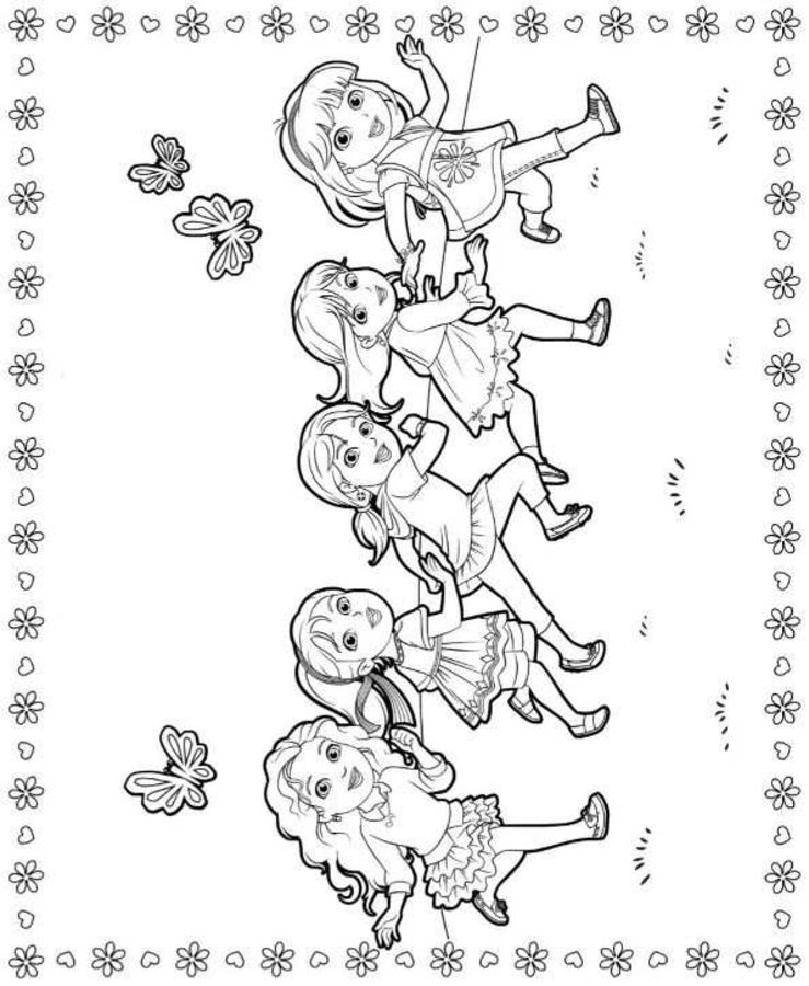 coloring pages dora and friends coloring pages dora and friends into the city coloring pages dora pages coloring friends and