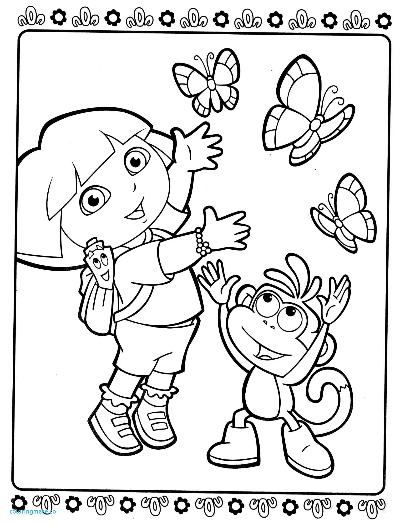 coloring pages dora and friends dora and friends coloring pages dora coloring and friends pages