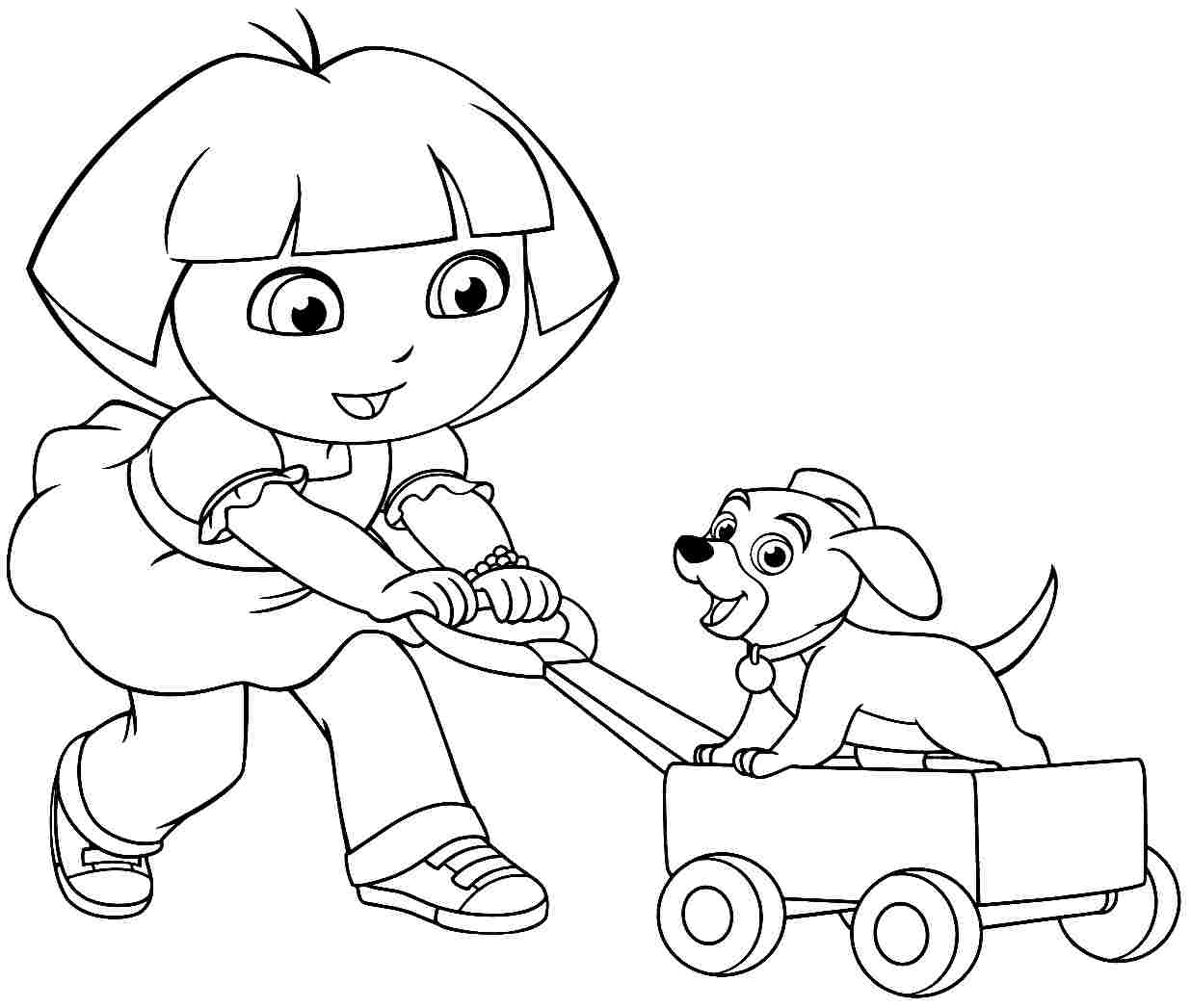 coloring pages dora and friends dora and friends coloring pages to download and print for free coloring and pages dora friends