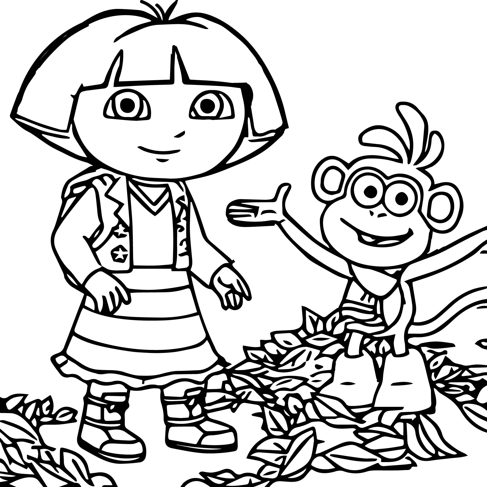 coloring pages dora and friends dora and friends coloring pages to download and print for free pages and friends coloring dora