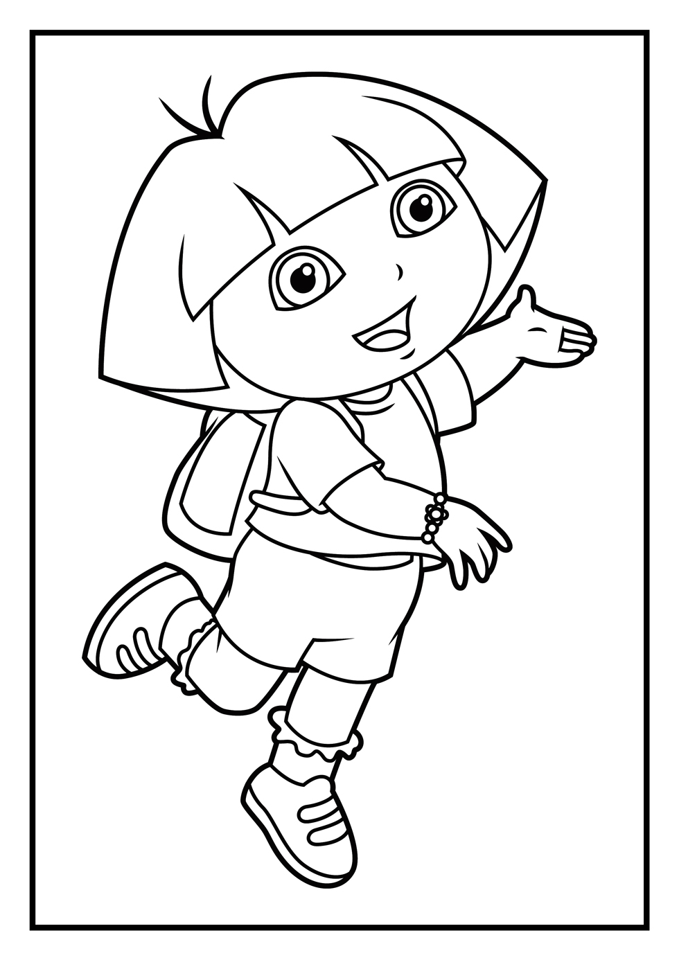 coloring pages dora and friends dora coloring pages learny kids coloring dora and pages friends