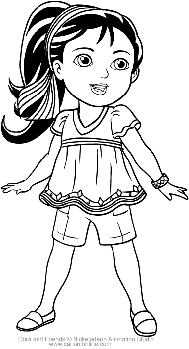 coloring pages dora and friends dora coloring pages with friends printable free coloring and pages coloring dora friends