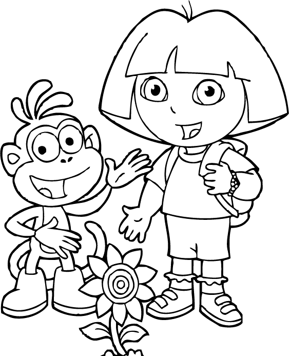 coloring pages dora and friends printable coloring pages dora and friends into the city friends dora pages coloring and