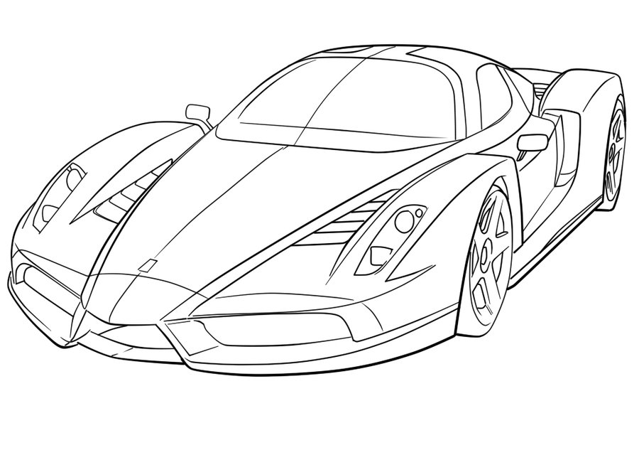 coloring pages ferrari ferrari coloring pages free printable ferrari coloring pages coloring ferrari pages 1 1