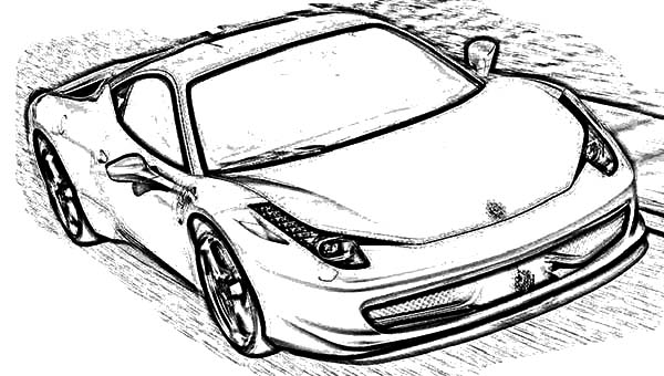 coloring pages ferrari ferrari coloring pages to download and print for free coloring pages ferrari