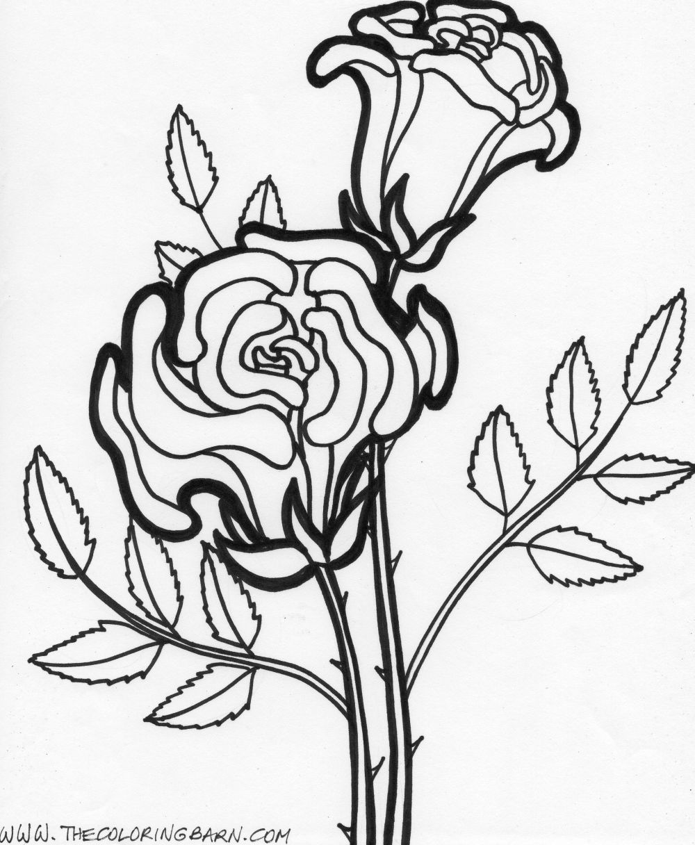 coloring pages flowers printable free printable flower coloring pages for kids best printable flowers coloring pages