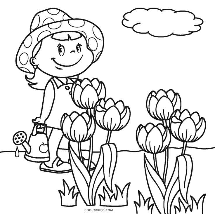 coloring pages flowers printable free printable flower coloring pages for kids coloring flowers printable pages
