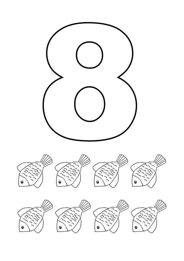 coloring pages for 8 year olds desenho de número 8 com figuras para colorir tudodesenhos coloring olds pages for year 8