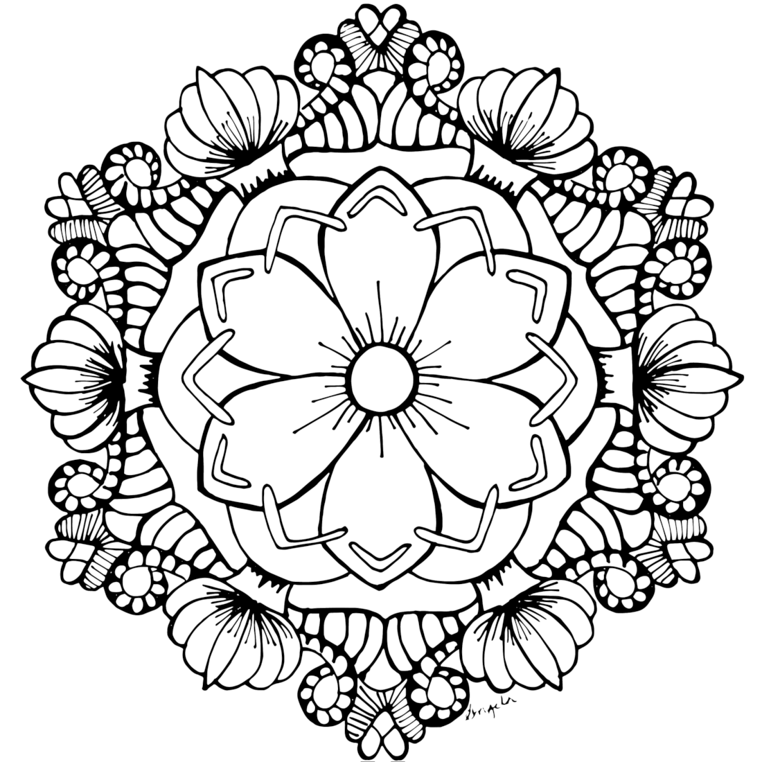 coloring pages for adults flowers very detailed flowers coloring pages for adults hard to flowers for pages adults coloring