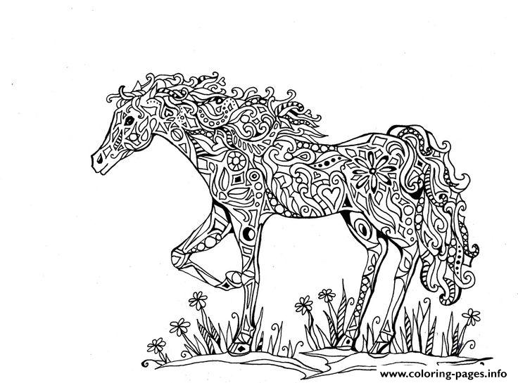 coloring pages for adults hd adults difficult animals horse printable hd coloring pages coloring hd pages for adults