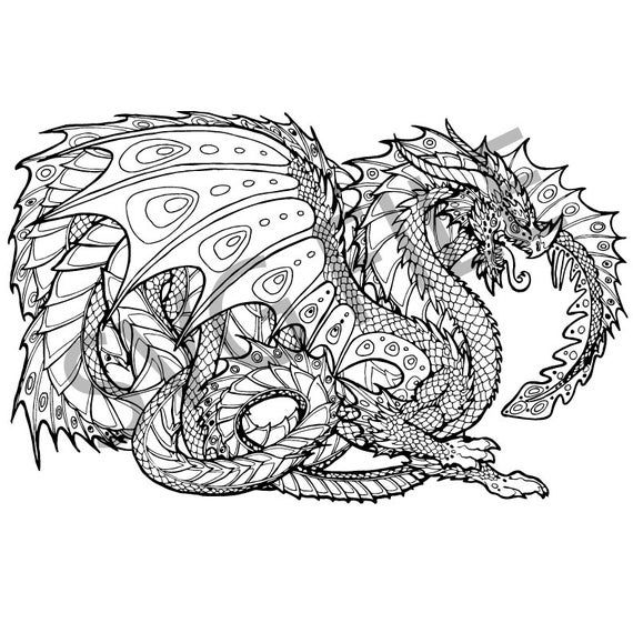 coloring pages for adults hd dragon svg detailed coloring pages dragon coloring page for adults pages coloring hd