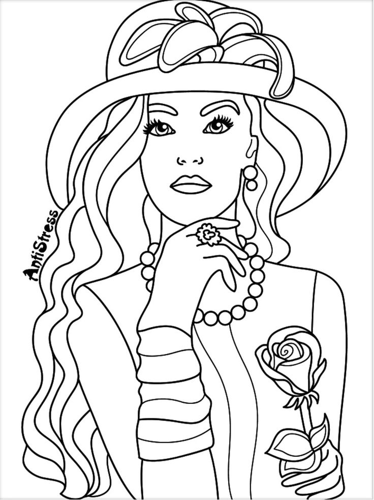 coloring pages for adults women beauty antistress coloring app blank coloring pages pages adults coloring for women