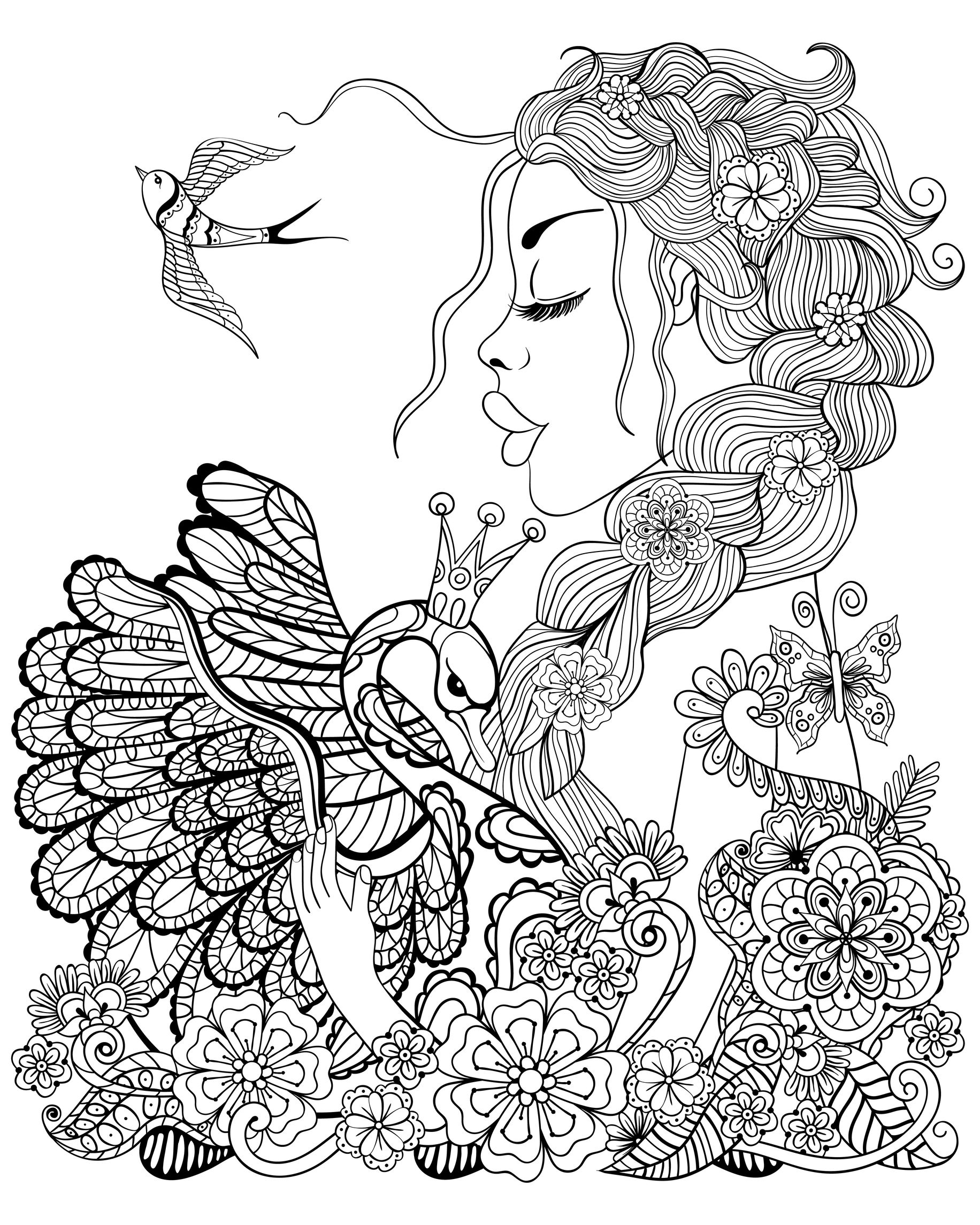 coloring pages for adults women image result for coloring pages for women coloring pages adults coloring women for pages