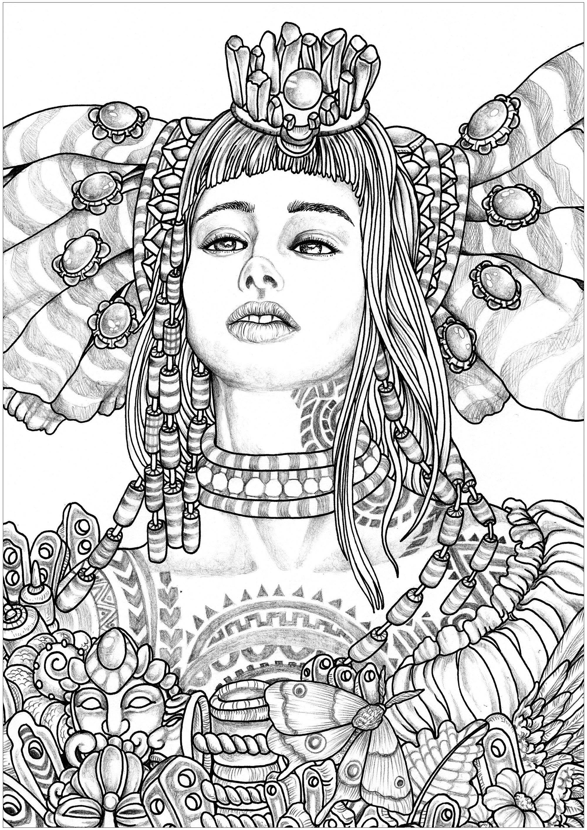 coloring pages for adults women woman coloring pages for adults for coloring pages adults women