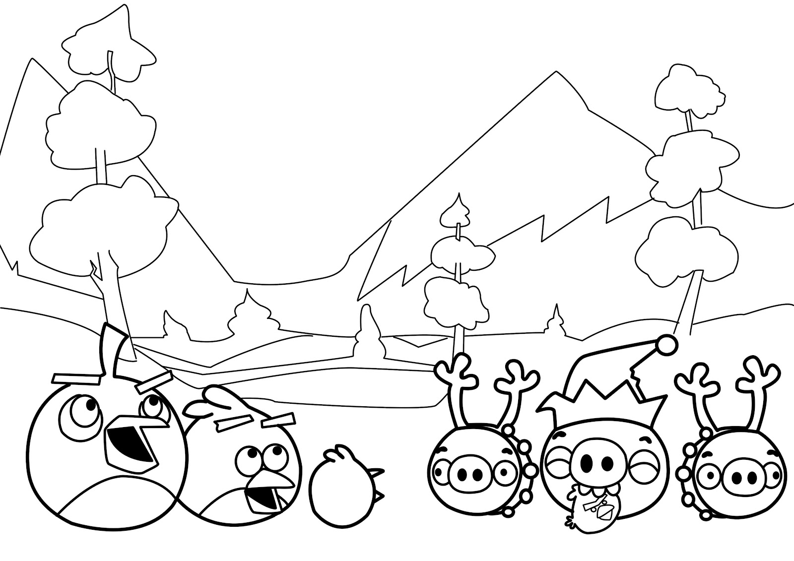 coloring pages for angry birds angry birds coloring ms cat39s honest world for pages coloring birds angry