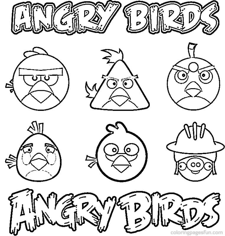coloring pages for angry birds free angry birds coloring pages coloring pages for kids birds for pages coloring angry