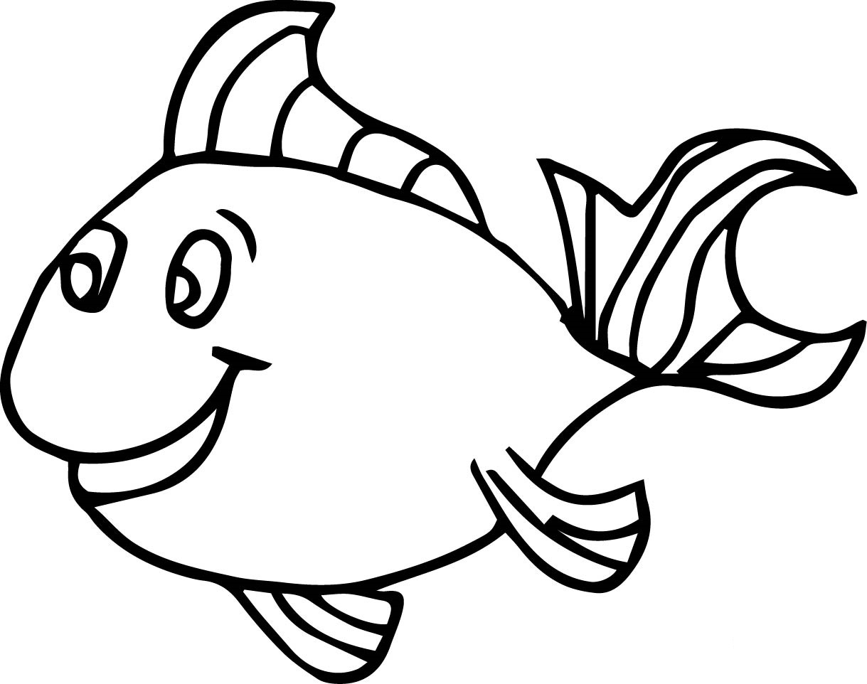 coloring pages for fish fish coloring pages for kids preschool and kindergarten for fish pages coloring