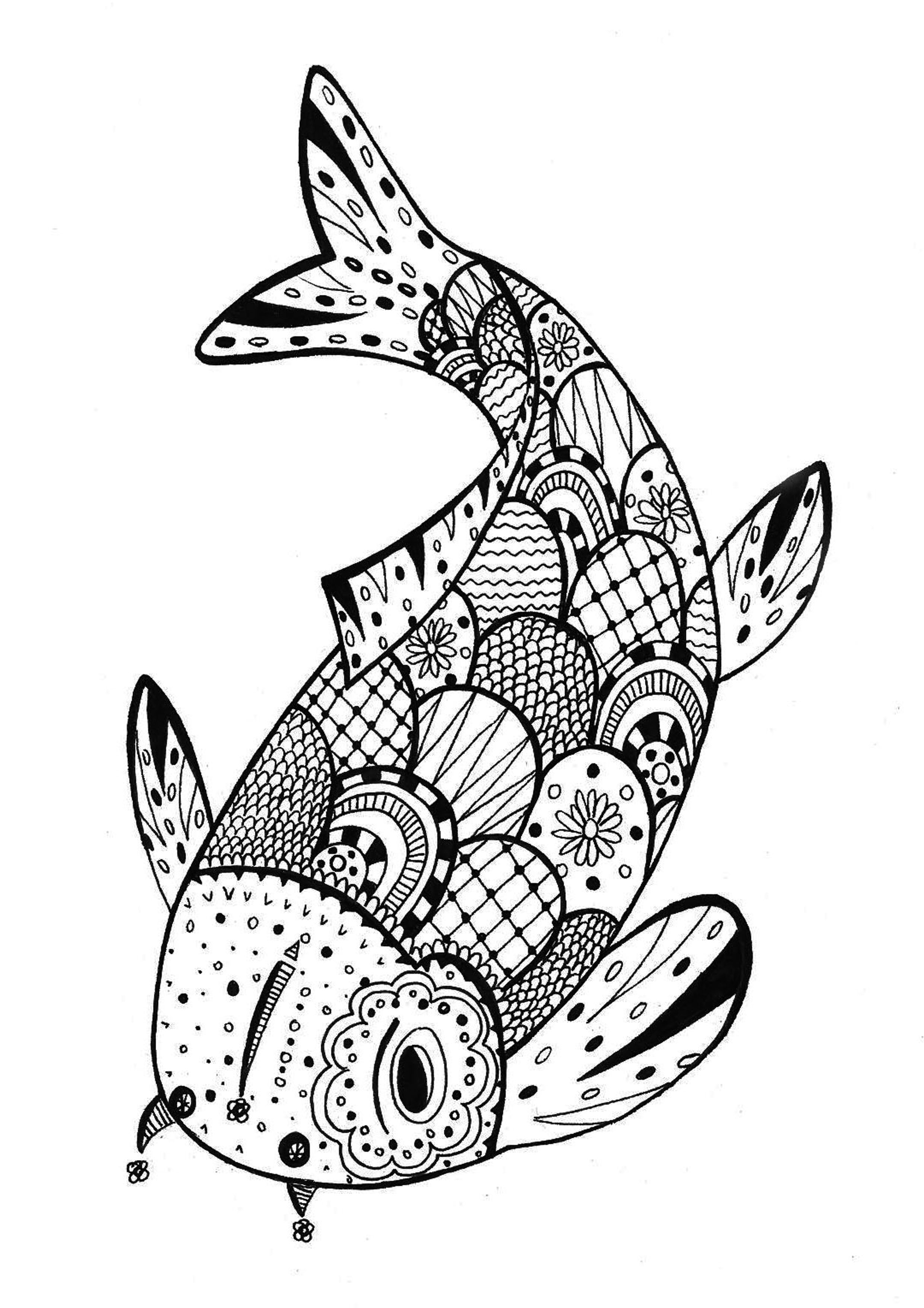 coloring pages for fish free printable fish coloring pages for kids cool2bkids for pages fish coloring