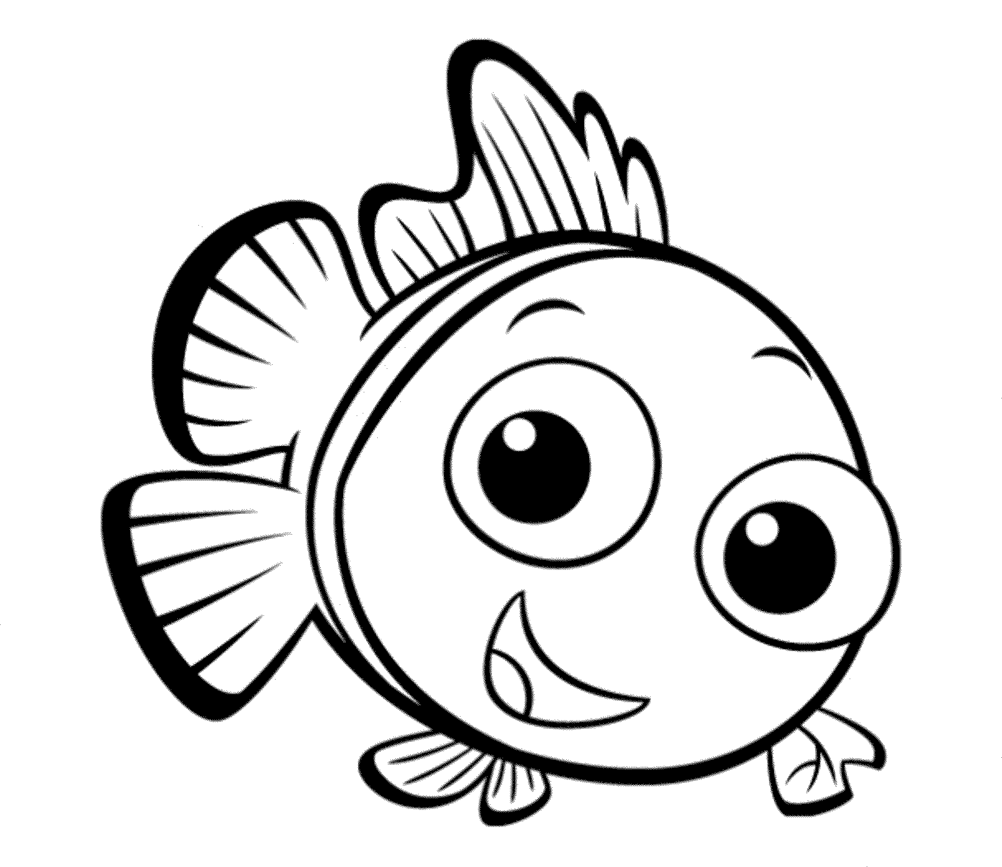 coloring pages for fish print download cute and educative fish coloring pages coloring for fish pages