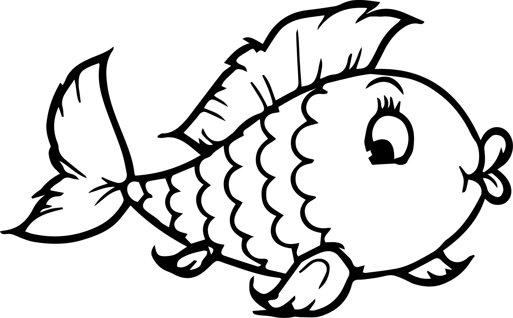coloring pages for fish rainbow fish printable coloring page coloring home for coloring fish pages