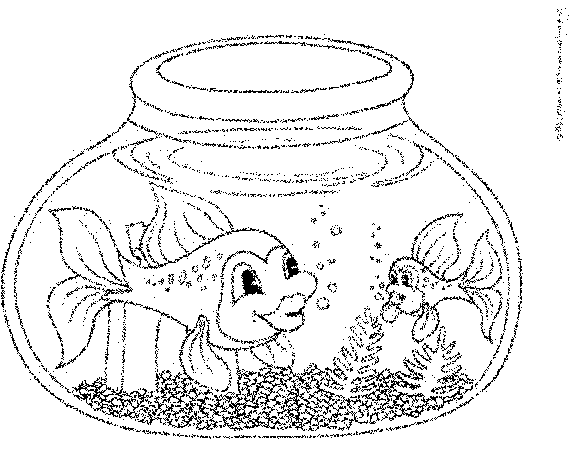 coloring pages for fish rainbow fish printable coloring page coloring home for fish coloring pages