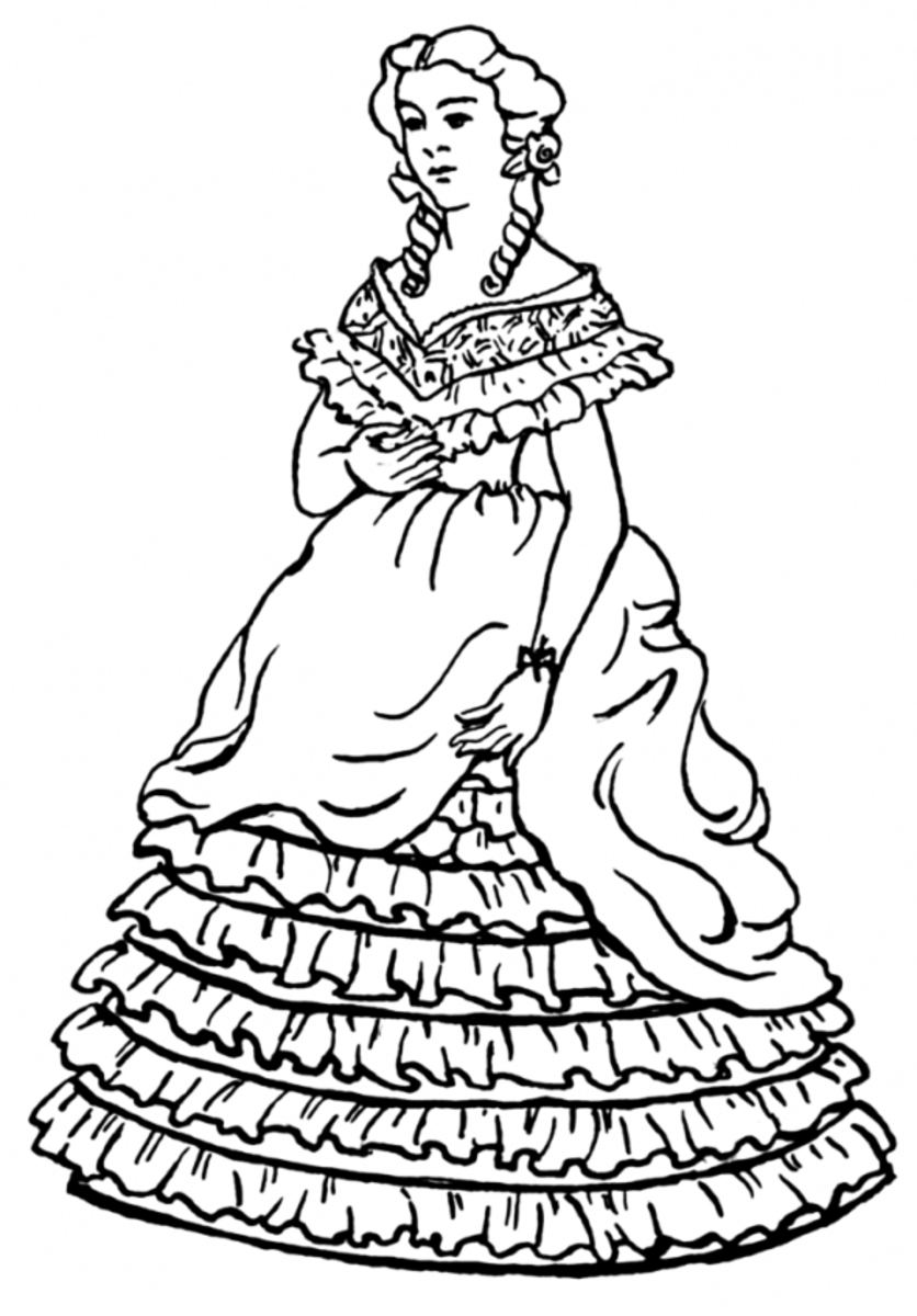 coloring pages for girls dresses beautiful dress coloring pages and pictures for adults and pages dresses for coloring girls