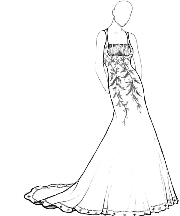 coloring pages for girls dresses coloring page barbie in a wedding dress pages coloring for dresses girls