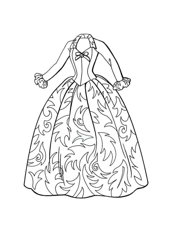 coloring pages for girls dresses coloring page girls summer dresses for women coloring page coloring for girls dresses pages