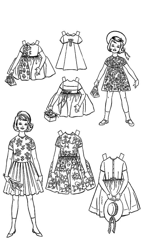 coloring pages for girls dresses coloring pages of fashion dresses at getcoloringscom dresses coloring girls pages for
