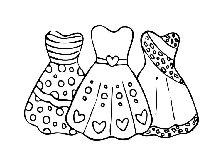 coloring pages for girls dresses doll dress night gown with gloves coloring pages girls for dresses pages coloring