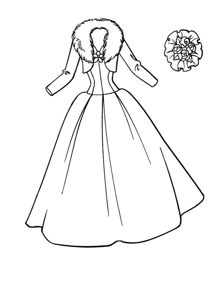 coloring pages for girls dresses dress coloring pages for girls at getdrawings free download girls coloring dresses pages for