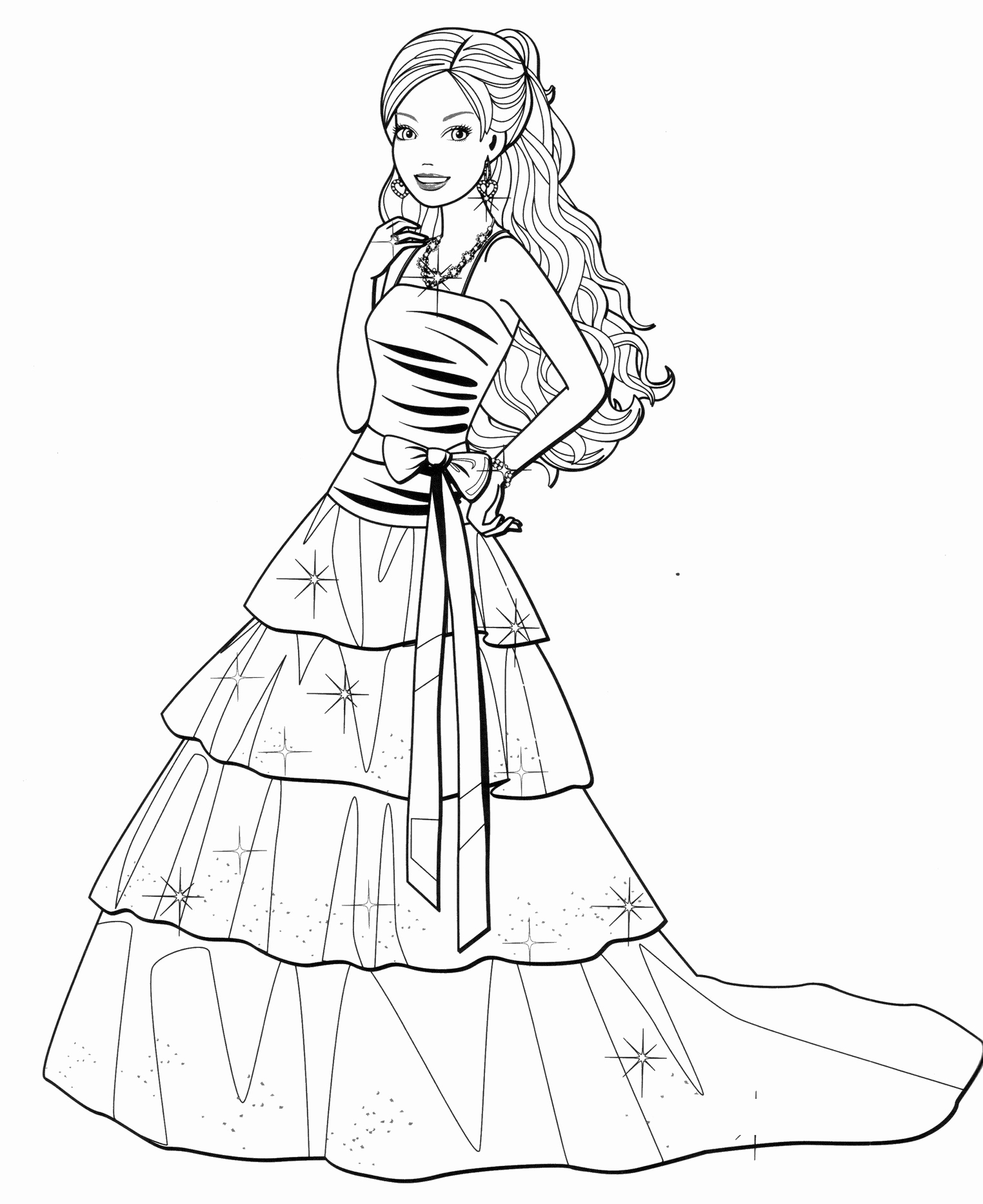 coloring pages for girls dresses dress coloring pages free printable dress coloring pages pages dresses coloring for girls