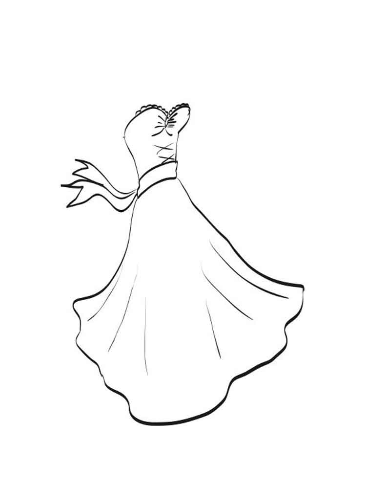 coloring pages for girls dresses dress coloring pages getcoloringpagescom coloring dresses girls pages for
