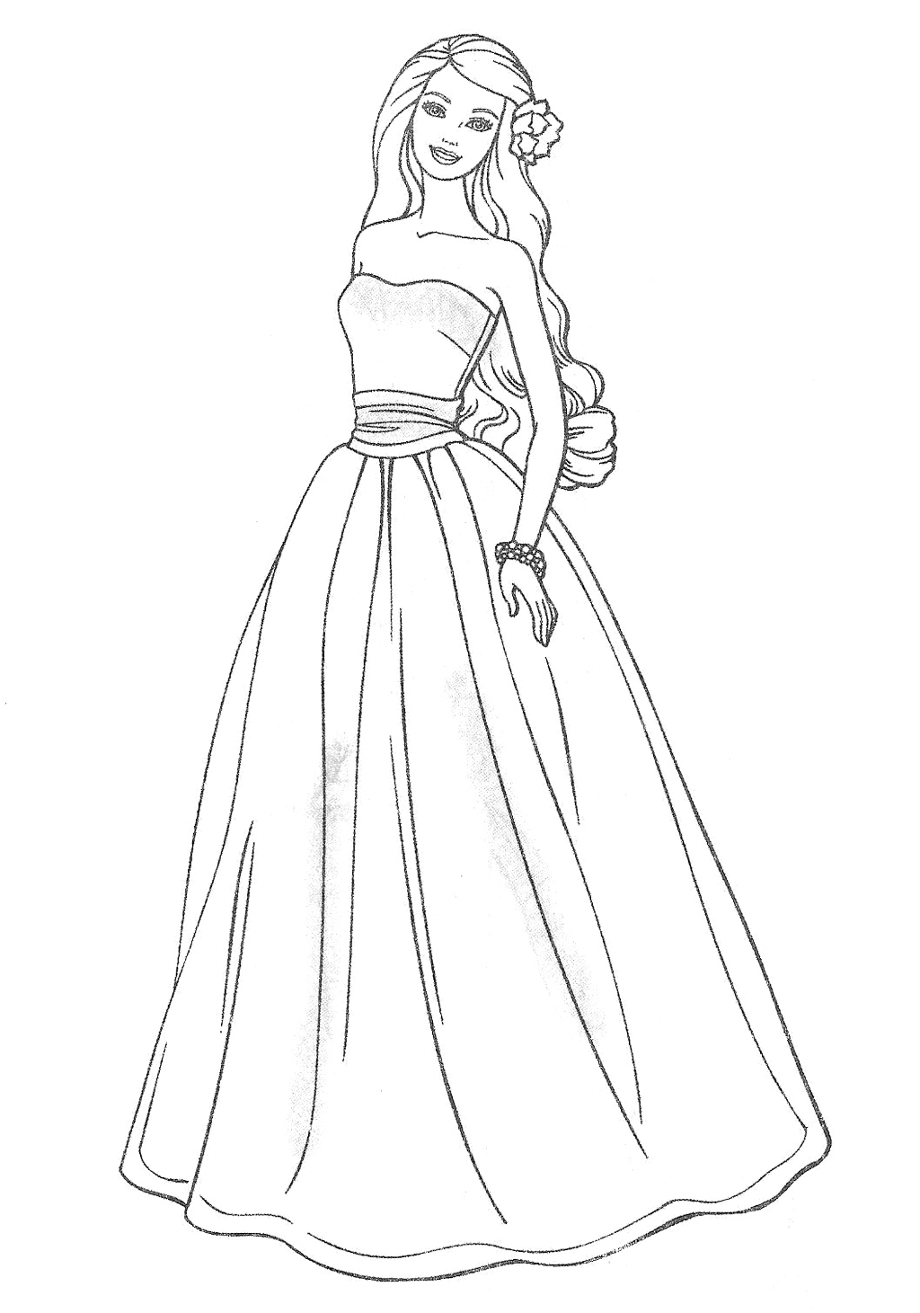 coloring pages for girls dresses dress coloring pages to download and print for free dresses coloring pages for girls