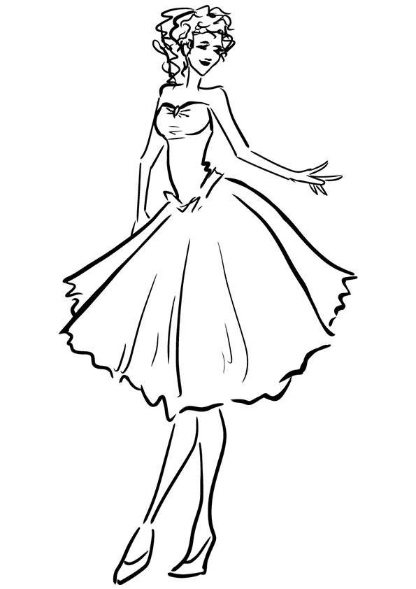 coloring pages for girls dresses free printable coloring pages for girls art hearty girls for dresses pages coloring