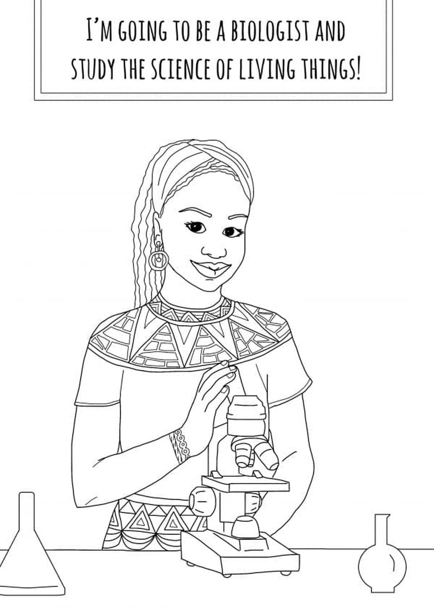 coloring pages for older girls she wanted to empower young girls so she made this older coloring pages for girls