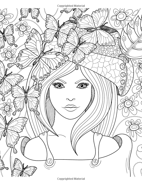 coloring pages for older girls teen coloring books for girls vol 1 detailed drawings for pages older coloring girls