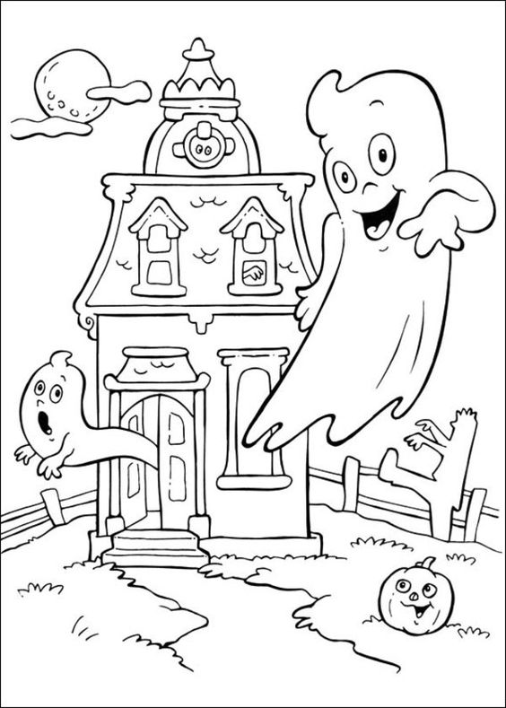 coloring pages ghost 30 free printable cute halloween drawings coloring coloring ghost pages